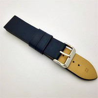 Wholesale New Listing Multi colors blue waterproof smooth grain cowhide genuine leather cuff watch band for apple watch