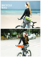Wholesale New Arrive High Quality Waterproof Handlebar Chartered Mobile Phone Bags Head Package Touch Screen Mountain Bicycle Parts Cross body Bag