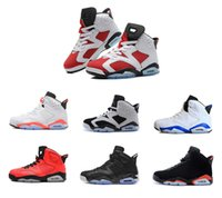 shoes basketball jordan - new cheap men basketball shoes air retro Angry bull carmine infrared oreo red black sport sneaker shoes sale us size