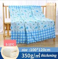 Wholesale Newborn child quilt sandwich cotton thick spring can be worn off cotton quilt in winter