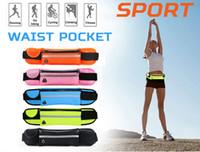 Waistpacks Unisex Plain Universal 4.7 inch Waterproof Sports Running Waist Pocket Pouch Belt Case Bag For iPhone 7 Plus 6 6S 5 5S Samsung Galaxy S7 edge S6 Note 5