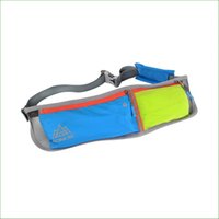 Wholesale RWS02 Men and women outdoor sports Running waist Bag Pouch Waist Belt Light weight Breathable Marathon running bags