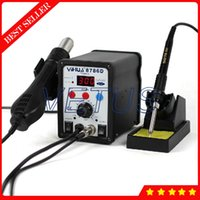 Wholesale YH D In Digital Hot Air SMD Rework Soldering Station Welding Machine with electric solder Iron thermostic solder station