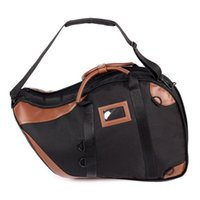 Wholesale One Piece French Horn Bag High Quality brass instruments Case bag JICHUAN Brand Black