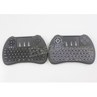 Wholesale H9 G Mini Keyboard With Backlit G Wireless Air Fly Mouse Qwerty Keyboard Touchpad For Android TV Box Media Player PC