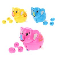 baby giving birth - Lovely Cartoon Elephant Toy Fun Wind up Female Elephant Give Birth Baby Toy Kids Children Cute Clockwork Toy Nice Xmas Gift K5BO