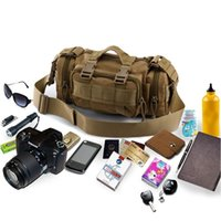 Wholesale Molle Outdoor Sports Bags Waterproof Camouflage Army Tactical Waist Bags Hiking Camping Bags for Men and Women