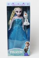 Wholesale Frozen Princess Inch Frozen Doll Elsa and Anna Frozen Toys Good Girl Doll in box