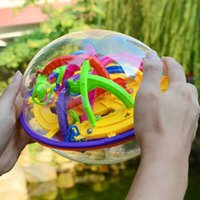 Wholesale Types Super Challenge Perplexus Maze Ball D Magical Intellect Ball Labyrinth Puzzle Ball IQ Balance Toy Brain Teaser