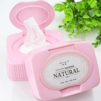 Wholesale Pc easy make up remover wipes Makeup removal cotton pad wipes facial cleansing wet tissues Y1