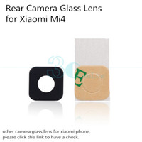 Wholesale Genuine Original Glass Lens for Xiaomi Mi4 Mi Note Mi5 Rear Back Camera Glass Lens Cover Replacement Phone Repair Spare Parts