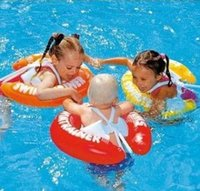 Wholesale New Swim ring children baby armpit ring floating ring years old thick inflatable life buoy