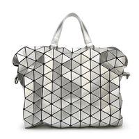 art geometry - 4 Colors Handbags Totes Fashion Lady Origami Art Geometry Handbag Women Lucent Laser Effect Tote Bag
