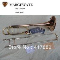 Wholesale Brand Students Bach BO Superior Sandhi Tenor Trombone Musical Instrument Phosphor Bronze Horn Professional Trombone
