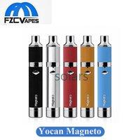 Original Yocan magneto cire kit 1100mAh cire portable vaporisateur E Cigarette Dab outil avec en céramique Coil Silicon Bar offre une meilleure expérience