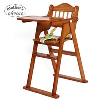 Wholesale High quality Mother s Choice solid wood baby highchair for feeding baby dinner chair MCC901