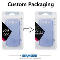 El nuevo estilo DIY personaliza la insignia de la compañía La cerradura de la cremallera empaqueta los bolsos plásticos del PVC Pakckaging para la caja del teléfono para el iphone 7 7plus