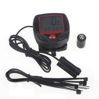 Wholesale Bicycle Computer Leisure Functions Waterproof Cycling Odometer Speedometer With LCD Display Bike Computers