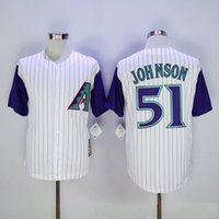 Wholesale 2016 Majestic Randy Johnson Jersey Arizona Diamondbacks Jersey Randy Johnson Baseball Jersey