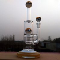 ball platforms - Colorful glass hookah inches tall recycler water pipes oil rig platform arm and colorful glass ball bongs famale joint mm