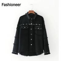 Cheap Ladies Black Denim Jackets | Free Shipping Ladies Black ...