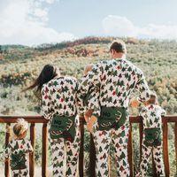 adult baby romper - Christmas Family Matching Christmas Reindeer Trees Pajamas Romper Adults Baby Kids Sleepwear Nightwear Pjs Tracksuit Sleepsuit