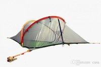 20шт Tentsile Tree Палатка Открытый кемпинга Палатки 2 человек Подвесной гамак 600D Оксфорд ткань + PU окрашены FEDEX Free