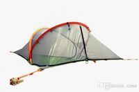 20pcs Tentsile Tree Tent tente de camping en plein air 2 personnes Hanging Hamac 600D Oxford tissu + PU peint Free FEDEX