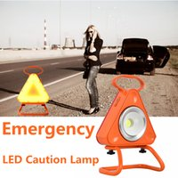 Wholesale Misso W Flashing Emergency Triangle Roadside Hazard Lights LED Warning Lights Caution Light for Truck Car Vehicle LED Safety light Mode