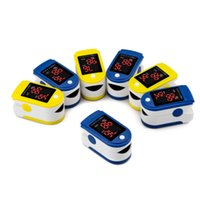 Wholesale oximetro de dedo health necessities Fingertip Pulse Oximeter Blood Oxygen SpO2 saturation oximetro oximeter a finger