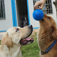 Toys random Chirstmas Pet Big Dog Toy Sounding Toy Ball Bite Samoye Golden Ball Molar Tooth Training Pet Toys
