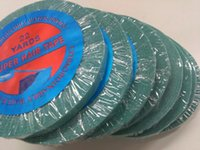 Wholesale Germany Blue Tape cm yard Super Strong Glue Adhesive double sided tape for tape hair extension attaching lace front wig tape