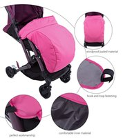 Wholesale HOT Sale Universal Warm Winter Quilted Stroller Foot Muff Windshield Cover For Babies Winter Comfortable Protection For Infant