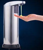 Wholesale stainless steel sensor soap dispenser automatic sensor soap dispenser hand soap bottle liquid machine