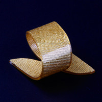 acrylic napkin rings - X Golden Acrylic Napkin Rings Beauty Special Irregular Plastic Napkin Holder For Wedding Hotel