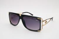 Wholesale 2017 Men Women Plank Cazal Sunglasses New Glasses Famous Eyewear Brand New Designer Luxury Sunglass Vintage Eyeglasses cazal