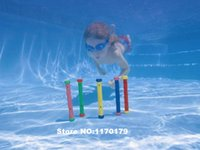 Wholesale new arrive outdoor fun sport Diving ring Swimming toys color package