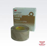 Wholesale High Quality CIP36 T0 mm W25mm L10m Single Sided Fiber glass cloth tape Hot Melt USA M Adhesive Tape