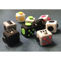 12-14 Years Pink Latex Hot Fidget Cube Toys Squeeze Fun Stress Reliever Fidget Toys Puzzle Magic Cube Toys Stress Cube With Box