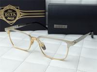 Unisex aristocrat gold - DITA ARISTOCRAT Eyeglasses Black Gold Eyewear Unisex Brand New with Box