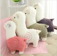 Wholesale high quality cm Alpaca Japan Amuse Alpacasso Arpakasso Plush Stuffed Doll Kids Alpaca Christmas Gifts Toy