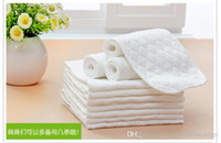 Wholesale New Baby Changing Pads baby diapers Bamboo Eco Cotton diapers nappy baby products Unisex diaper Washable with repeated children care x12cm