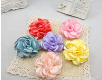asian bridal gowns - Cloth art big camellia flowers bridal gowns brooch brooches headdress flower stage women s accessories five colors