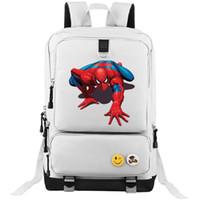 Unisex amazing backpacks - Spider man backpack Amazing school bag Super hero daypack Movie schoolbag Outdoor rucksack Sport day pack