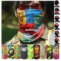 Wholesale outdoor riding bicycle hood amazing magic scarf seamless scarf hundreds of optional