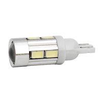 Wholesale 100X T10 SMD SMD Wedge Auto Car Projector Lens Light Bulb Parking Side Light DC12V