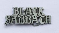 Buckles artist man - Black Sabbath Artist Music Belt Buckle SW BY490 suitable for cm wideth belt with continous stock