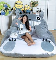 Wholesale Soft bed Cushion Sleeping Bag Huge Cute Cartoon Bed Memory Foam Mattress Cover Pad Bedding Set Protector m m