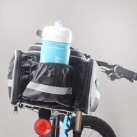 bicycle transportation - Soul Travel Nylon Waterproof Travel Bag Trunk Back Rack of Bicycle Bag Mountain Bike Frame Cover of Rain Cycling Carrier Transportation Hot