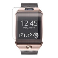 Wholesale 5pcs Clear LCD Screen Protector Protective Film For U8 Bluetooth Smart Watch Phone